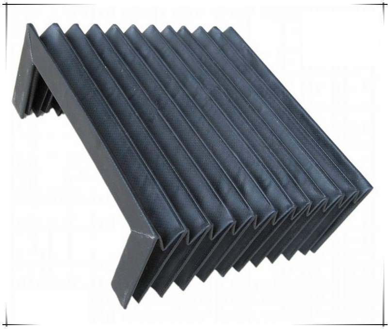 Protective accordion dust bellows T12 model for cnc machine 600mmx75mmx400mm