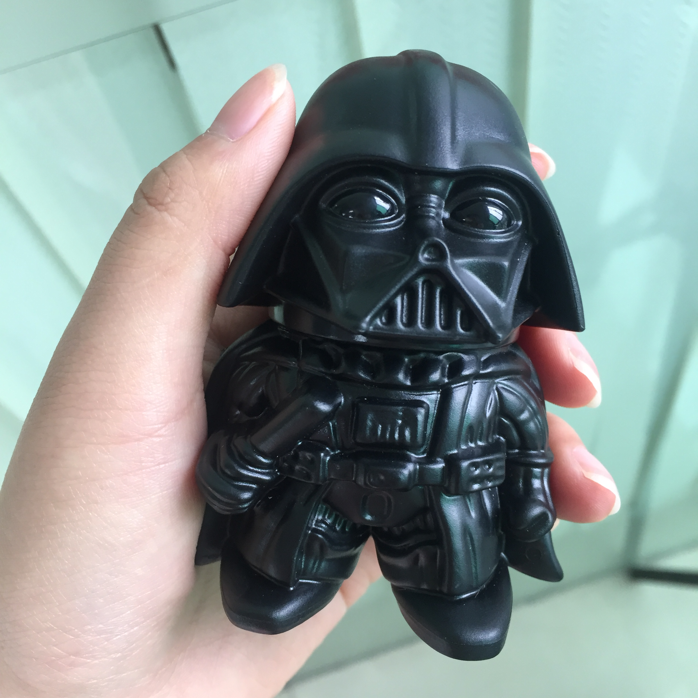 Newest Star Wars Black Warrior Darth Vader Stormtrooper toy Metal Zinc Alloy Herb Weed Grinder Tobacco Spice Crusher Accessories