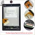 "Para acer iconia tab a1 a1-810 a1-811 a1 810 painel touch screen digitador lente de vidro peças tablet de 7.9 ""lcd tablet"