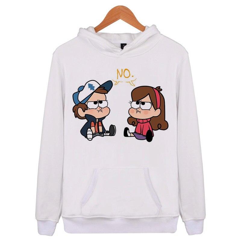 Gravity Falls Spring Men Hoodie Casual Hooded Hoody Mens Hoodies Sweatshirts Tracksuit For Male Brand Clothing Q5505