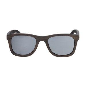 Image 3 - BerWer 2020 موضة النظارات الشمسية المستقطبة المتاحة نظارات شمسية خشبية من الخيرزان
