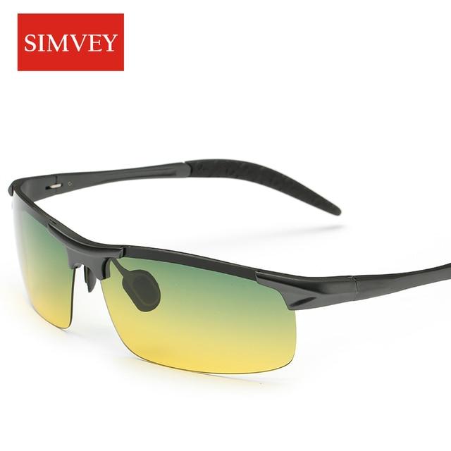 Men Night Driving Glasses Aluminum Alloy HD Night Vision Goggles Anti-glare Polarizer Sunglasses Car Drivers Glasses 1
