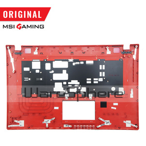 Image 5 - New Original LCD Rear Lid Back Cover for MSI GE70 307759A212A89 Top Cover Without Touchpad 307757C216Y31 Hinges MS 1759 MS 1756