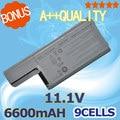 6600mAH  Battery for Dell  312-0538 451-10308 451-10309 451-10326 451-10327 CF623 CF704 CF711 DF192 DF230 DF249 FF231 FF232