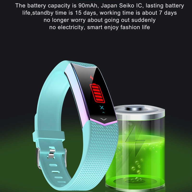 FUWUDIYI LV08 умный Браслет фитнес-трекер Браслет кровяное давление монитор сердечного ритма шагомер спортивный браслет для женщин часы
