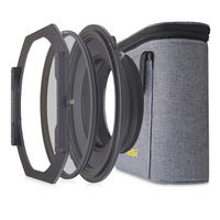 NiSi S5 Kit 150mm Filter Holder System Bracket with Circular Polarizer for Nikon 14 24mm Lens for Tamron 15 30mm for Sony 12 24