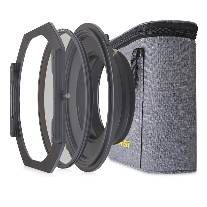 NiSi S5 Kit 150mm Porte-Filtre Système Support avec Circulaire polarisant pour Nikon 14-24mm Lentille pour Tamron 15-30mm pour Sony 12-24