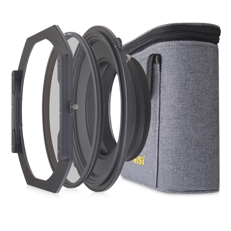 NiSi S5 Kit Filtro di 150 millimetri Staffa di Supporto Del Sistema con Polarizzatore Circolare per Nikon 14-24mm Lente per tamron 15-30mm per Sony 12-24NiSi S5 Kit Filtro di 150 millimetri Staffa di Supporto Del Sistema con Polarizzatore Circolare per Nikon 14-24mm Lente per tamron 15-30mm per Sony 12-24