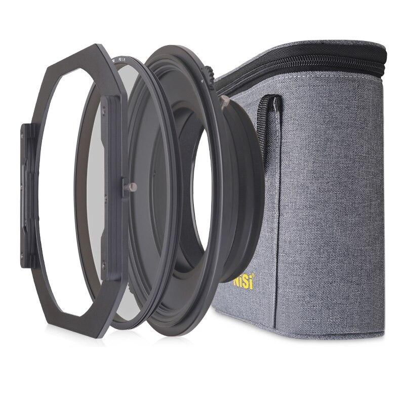 NiSi S5 Kit Soporte de Filtro de 150mm Sistema de Soporte con Circular polarizador para Nikon 14-24mm Lente para Tamron 15-30mm para Sony 12-24