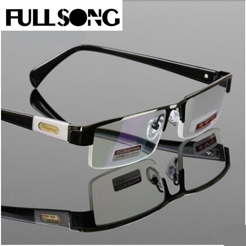 Fullsong titanium legierung antirrflective beschichtet mit box senator oculos gafas de lectura business lesebrille
