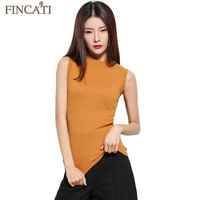 Goat Cashmere Top Autumn Winter Sleeveles Tank Vest High Quality Soft Skin Friendly Casual Sweater Tank Tops