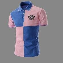 38ef86baf54b SexeMara 2018 casual summer 100% cotton Short sleeve army Air force one Polo  shirt