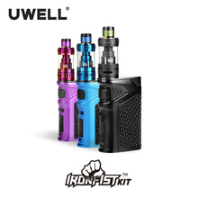 UWELL IRONFIST Kit 5-200W 5ml Tank Atomizer Use 18650 Battery o USB Charge Electronic Cigarette Kits (Sin batería) 180617
