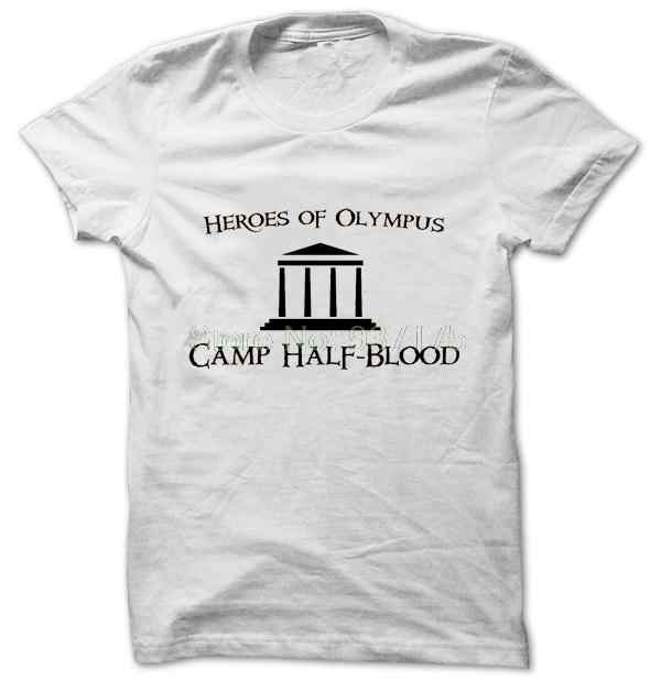 Camp Half Blood heroes of  T SHIRT  TEE TSHIRT Womens unisex Fashion t shirt