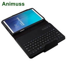 Animuss Wireless Bluetooth Keyboard Case For Galaxy Tab E 9.6 T560 wireless bluetooth keyboard case cover for galaxy tab p1000