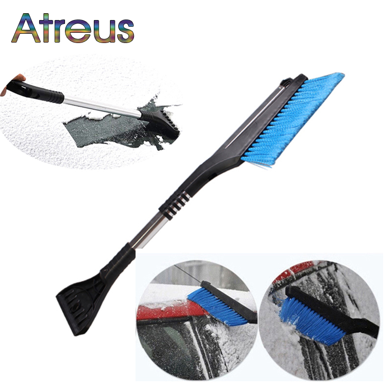 Atreus Car Ice Scraper Snow Brush Cleaning Tool for Hyundai I30 IX35 Nissan Juke Subaru Suzuki Vitara Swift SX4 Opel Insignia