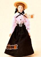 G05-X4435 kinderen baby gift Speelgoed 1:12 Poppenhuis mini Meubels Miniatuur rement-Mooie jurk lady 1 stks