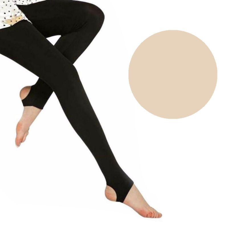 Women High Waist Stretchy Thicken Velvet Warm Skinny Footless/Footed Thermal Ankle Slim Full Length Leggings