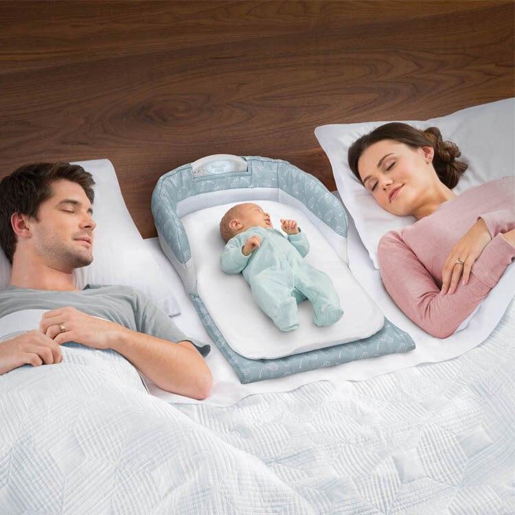 Lit bébé Portable nouveau-né nid douillet lit de sécurité pour bébé garçon filles pliable lit de voyage enfants co-dormir lit d'isolement - 2