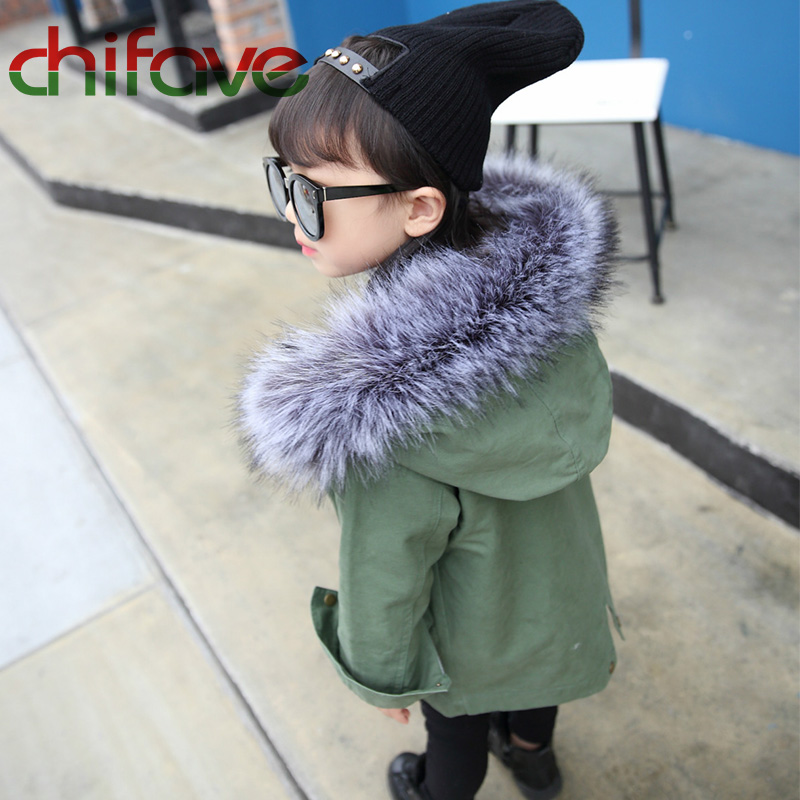 chifave-New-Winter-Children-Warm-Cotton-Coat-Suit-for-Unisex-Kids-Hooded-Fur-Collar-Zipper-Thick-Outerwear-Baby-Boys-Girls-Parka-2