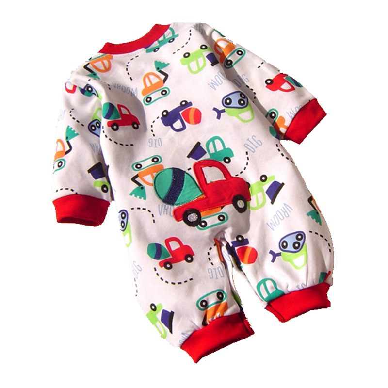 Cute Fantasia Infantil Cartoon.Baby Boy Romper Overall Jumpsuit 2016 New Spring Autumn Newborn Kids Clothes Bebe Clothing Wear puseky 2017 infant romper baby boys girls jumpsuit newborn bebe clothing hooded toddler baby clothes cute panda romper costumes