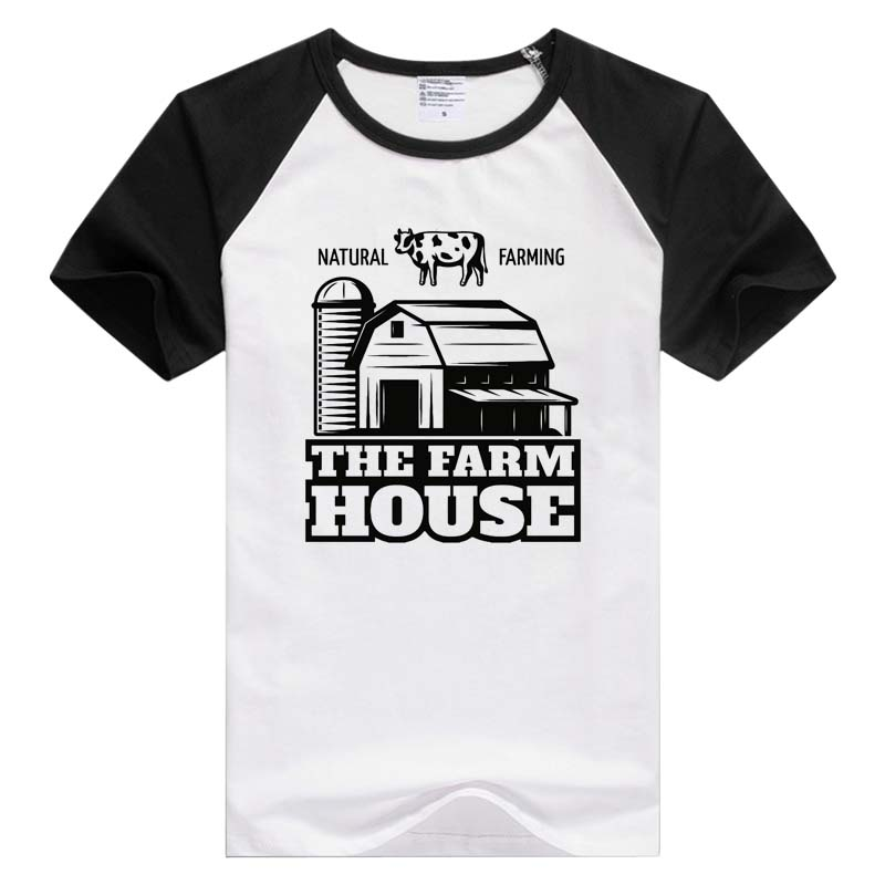 Farm Organic Food short sleeve casual Men Women T-shirt Comfortable Tshirt Cool Print Tops Fashion Tees GA893
