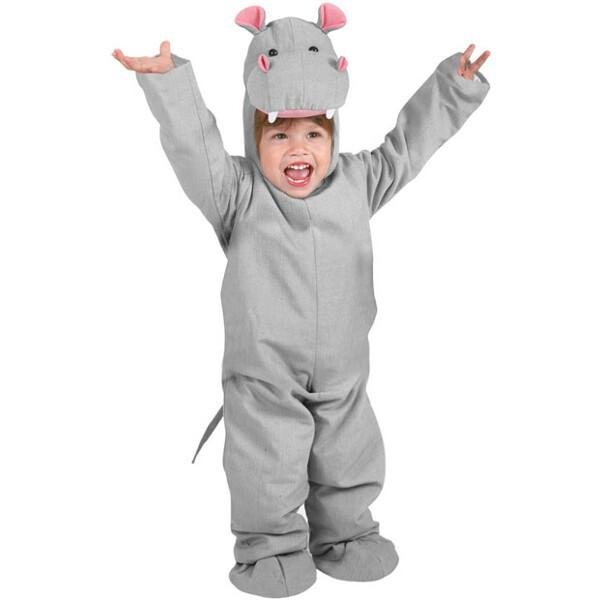 Adorable Cozy And Warm Child Unisex Hippo Hippopotamus Costume Be Cute For Halloween And Kids Animal Themed Party