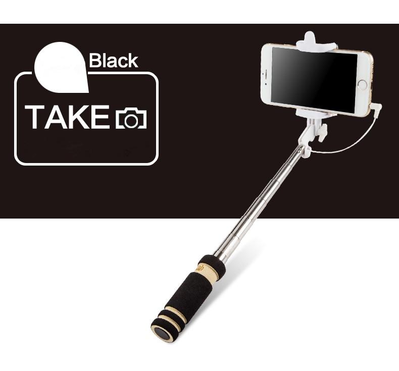 IPhone üçün Portativ qatlanan Simli Mini selfie çubuqlar Samsung - Kamera və foto - Fotoqrafiya 6