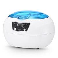 0.6L Ultrasonic Cleaner Digital Sterilizer Nail Tools Professional Washing Manicure Machine jewelry glasses Cleaners Equipment