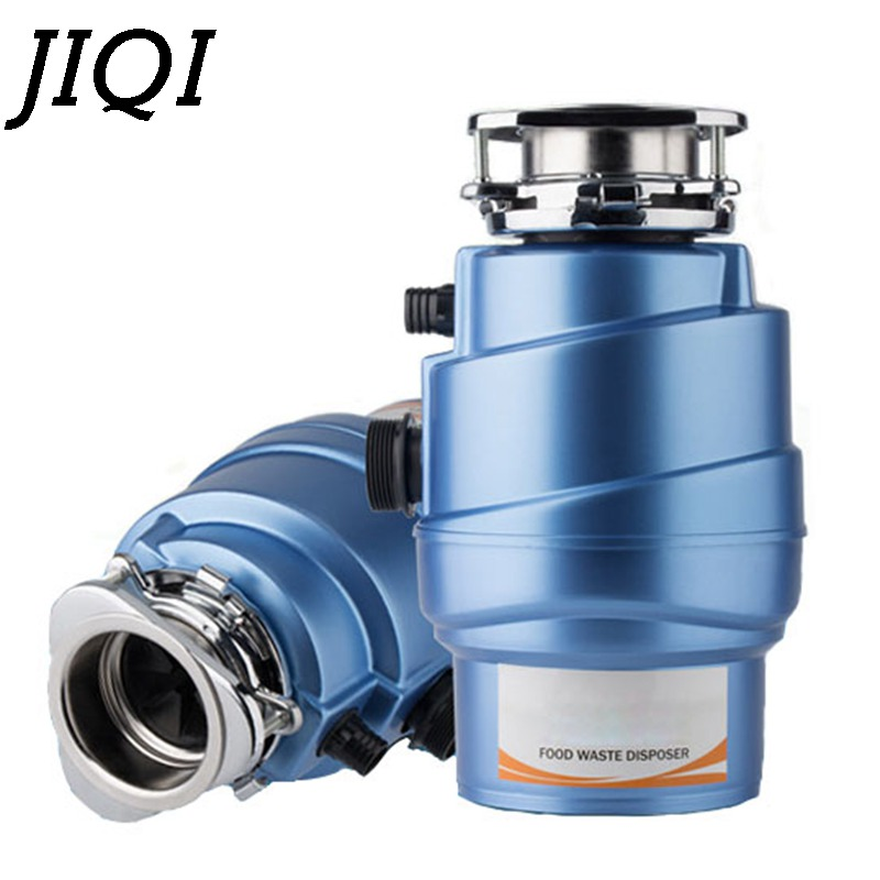JIQI Food Waste Disposer With Air Switch 1500ml food garbage disposal Stainless steel Grinder crusher kitchen appliances