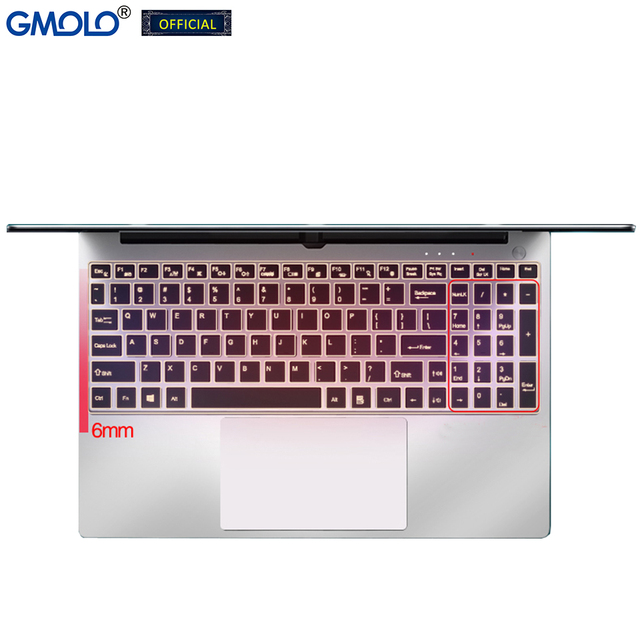 GMOLO 15.6inch Core I7 metal gaming laptop computer 16GB or 8GB RAM 512GB or 256GB SSD + optional 1TB HDD IPS creen notebook