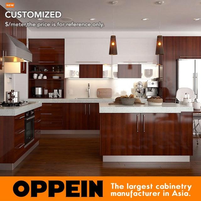 Diseño Simple Diseño Del Gabinete de Cocina De Aluminio Estándar ...