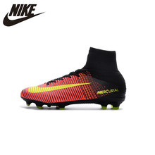 aaa9db4bd1f1 Nike MERCURIAL SUPERFLY V AG Soccer Shoes Superfly High Ankle Football  Boots Outdoor for Men 831955
