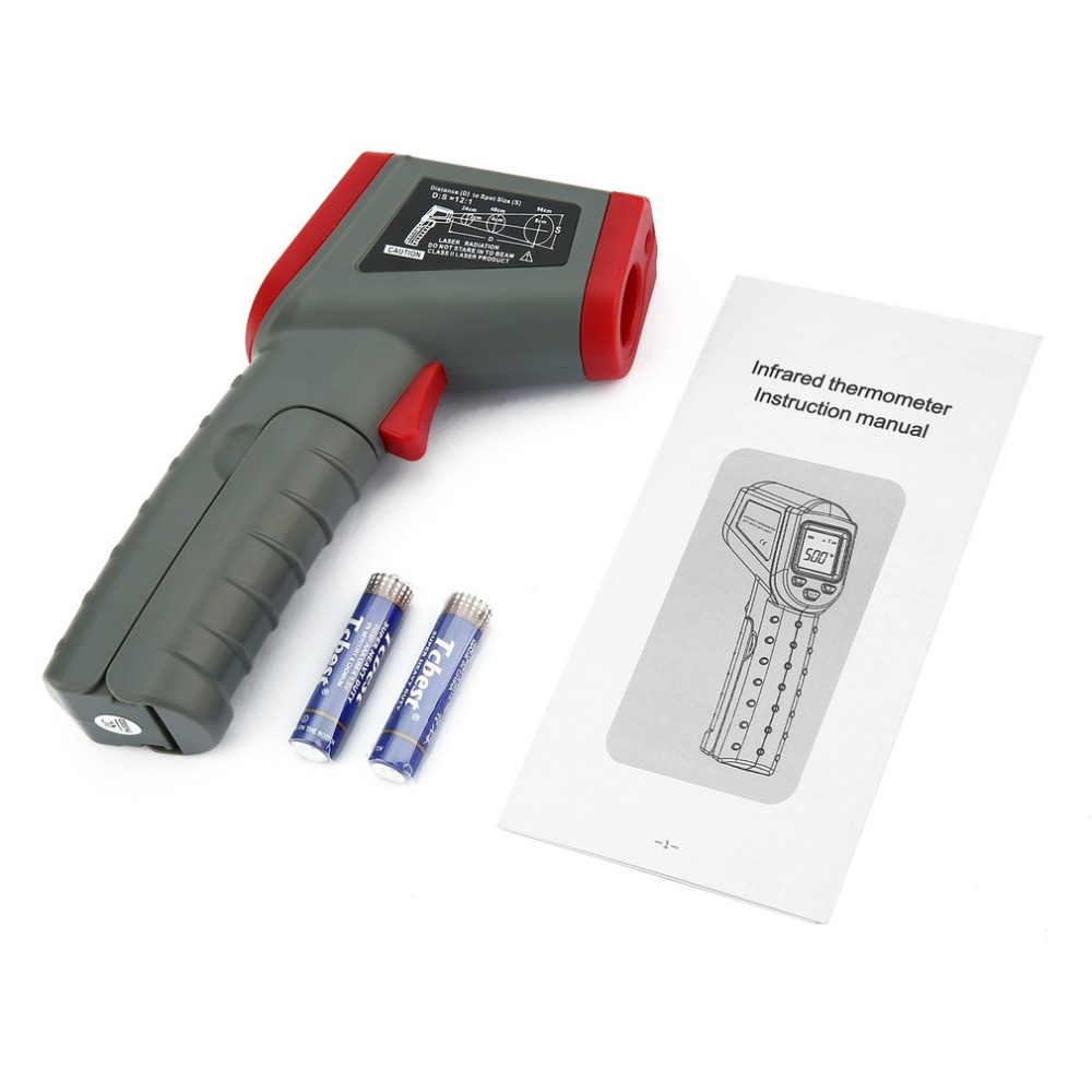 DT8500 Non Contact Infrared Thermometer with Auto Off and Data Hold Function for forehead Temperature Measurement 4