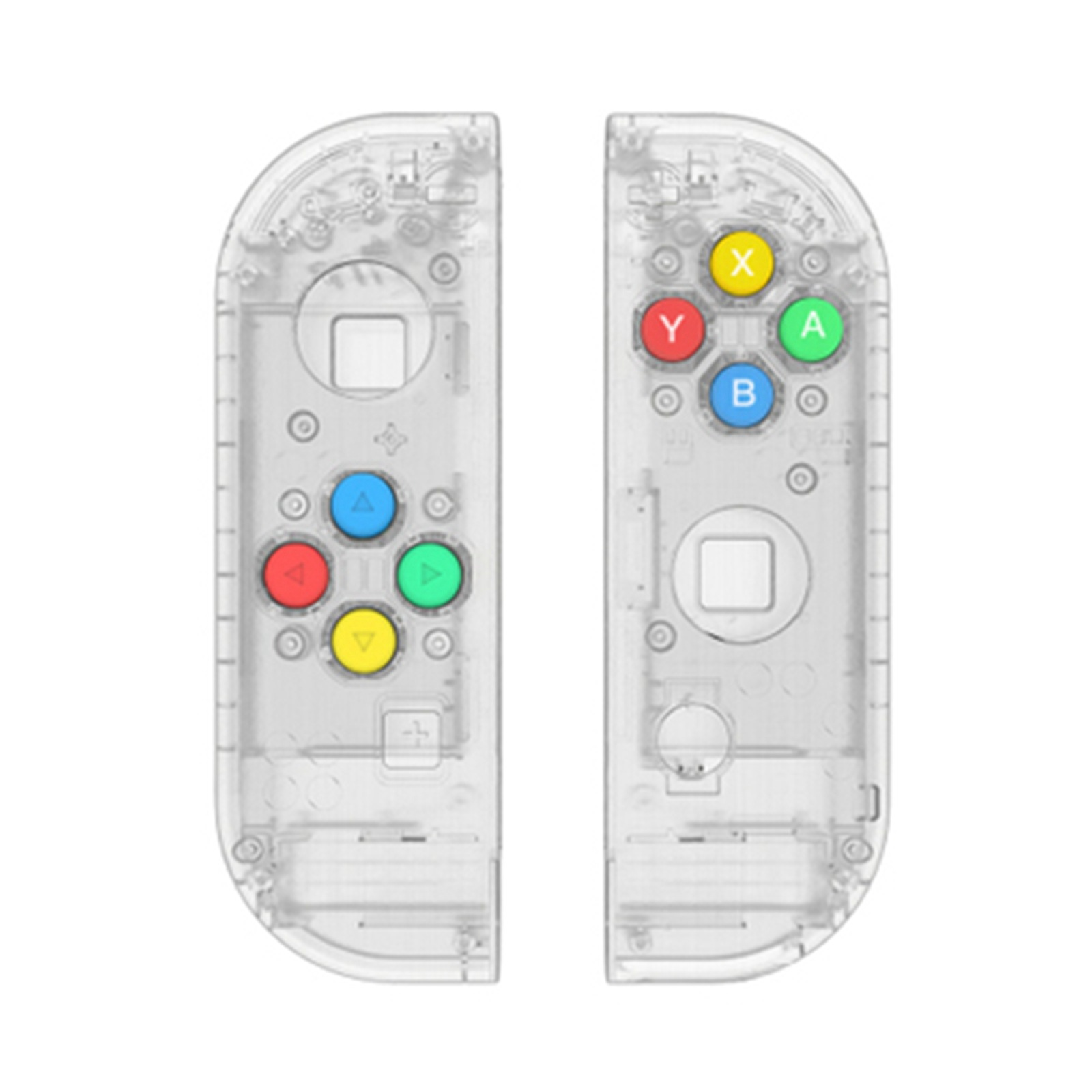 Image 3 - Nintendo Switch Joy Con Controller Handle Replacement Shell for 4 Color Keys Left and Right Pairs ABXY Directions Keys Buttons-in Replacement Parts & Accessories from Consumer Electronics