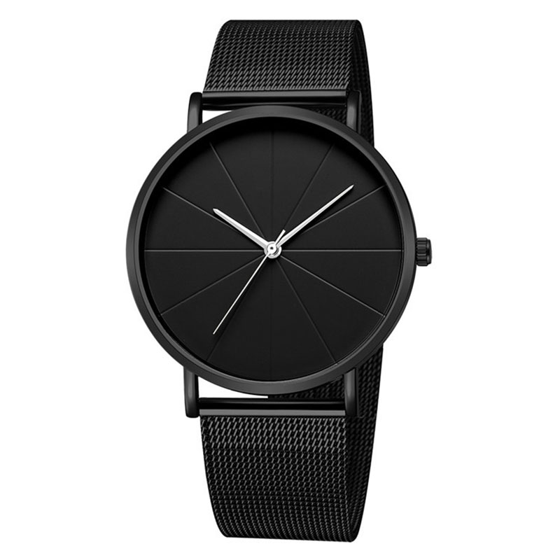New Ultra-thin Women's Watch 2019 Lover's Watch Luxury Saat Rose Gold Mesh Stainless Steel Women's Watches Female Male Clock