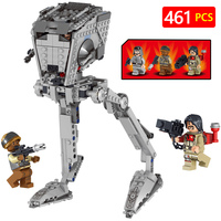 Hot Star Wars Movie Super Droid Building Blocks Compatible With LegoINGLYS StarWars Hunt for Baze and the Rebel Trooper Bricks