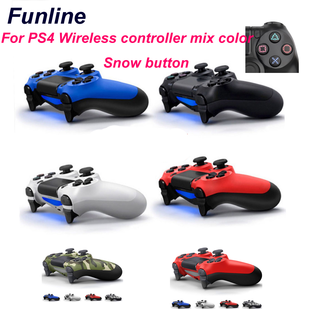 wired/Wireless Bluetooth Game controller for Sony PS4 Dual Shock Vibration Joystick