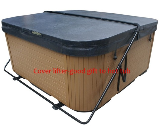 spa hot tub cover lifter CABINET FREE COVER REST fits vary hot tub ...