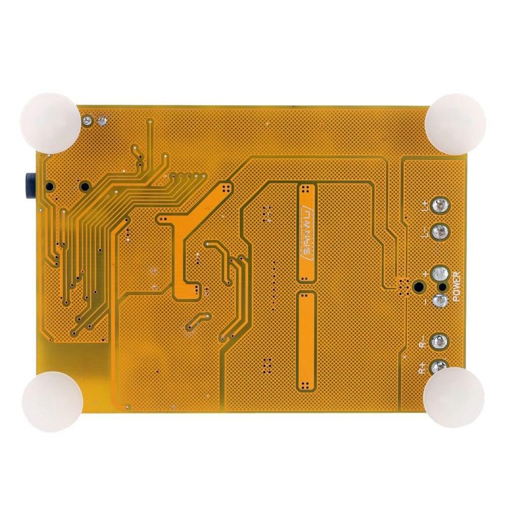 Hfes Новый TDA7492 Беспроводной <font><b>Bluetooth</b></font> 4.0 2X50 Вт бинауральные аудио цифровой Мощность Усилители домашние модуль