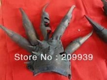 fast ship Hd0120 tibet chinese rare old style bronze glove carving statue (A0321)