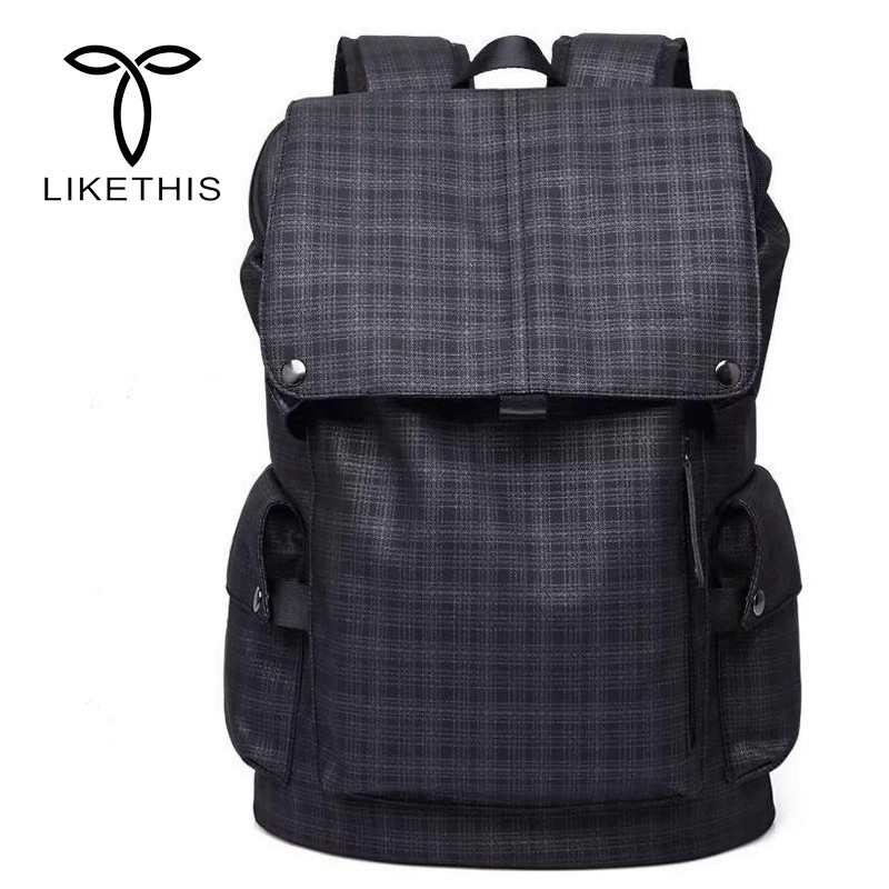 LIKETHIS Men Casual Backpack School Backpacks For 15.6inch Laptop New Material Commercial For Men Travel Mochila Leisure HD-168LIKETHIS Men Casual Backpack School Backpacks For 15.6inch Laptop New Material Commercial For Men Travel Mochila Leisure HD-168