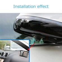 12 V HD Araba Dikiz Kamera Araba Ayna Kameraları Gece Görüş Kızılötesi Otomatik Ters Kamera Araç park kamerası