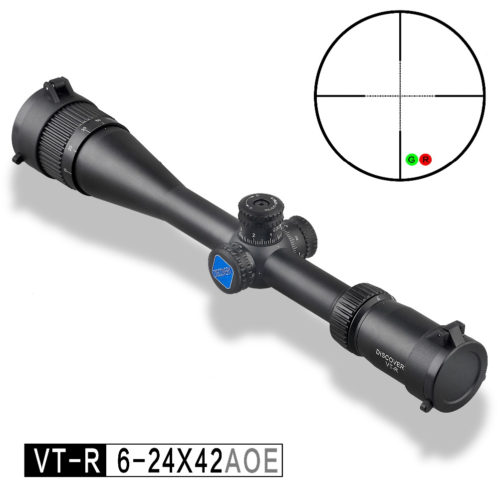 Discovery optical sight VT-R 6-24X42 AOE HMD SFP IR-MIL Long Range Shooting Hunting Riflescope collimator scopeDiscovery optical sight VT-R 6-24X42 AOE HMD SFP IR-MIL Long Range Shooting Hunting Riflescope collimator scope