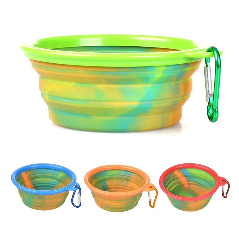 Portable Dog Food And Water Bowls