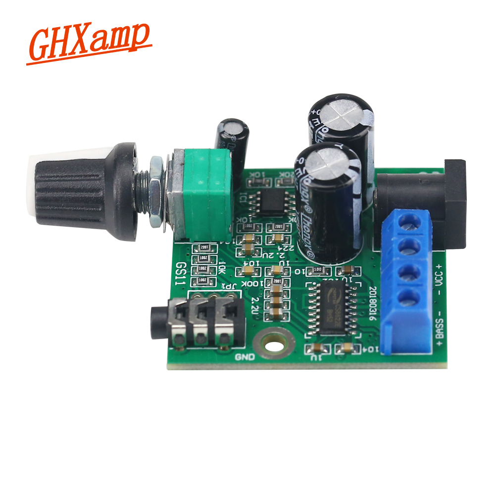 Ghxamp 25W Pure Subwoofer Amplifier Speaker Board Mono Bass For 3 5-5
