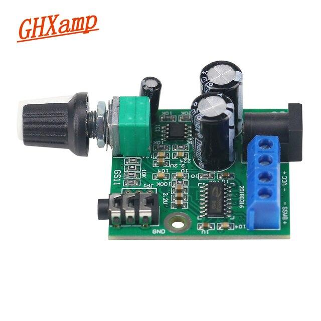 "Ghxamp 25W Pure Subwoofer Amplifier Speaker Board Mono Bass For 3.5 5"" inch 4 6OHM 20W 50W Subwoofer Speaker DC12V"