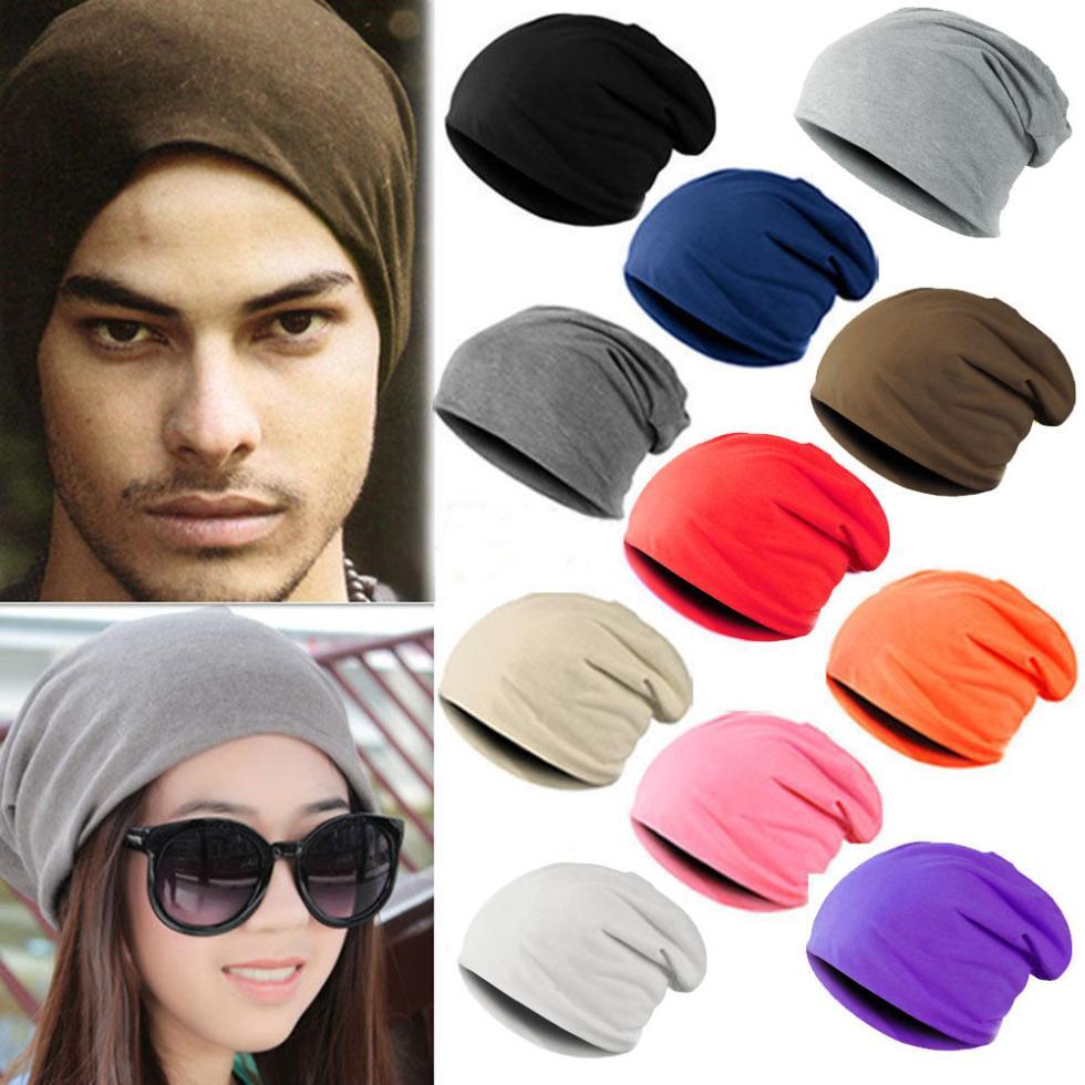 Best Price Unisex Women Men Knit Crochet Multi-color Winter Warm Hat Cap Beanie Hip-Hop Hats hot winter beanie knit crochet ski hat plicate baggy oversized slouch unisex cap