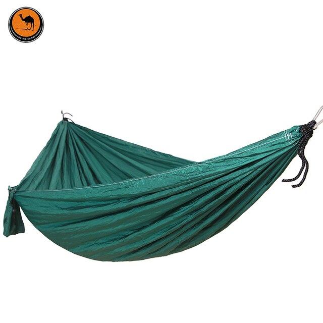 high strength portable camping hammock portable parachute nylon fabric travel ultralight camping double wide outdoor travel high strength portable camping hammock portable parachute nylon      rh   aliexpress