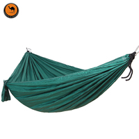High Strength Portable Camping Hammock Portable Parachute Nylon Fabric Travel Ultralight Camping Double Wide Outdoor Travel